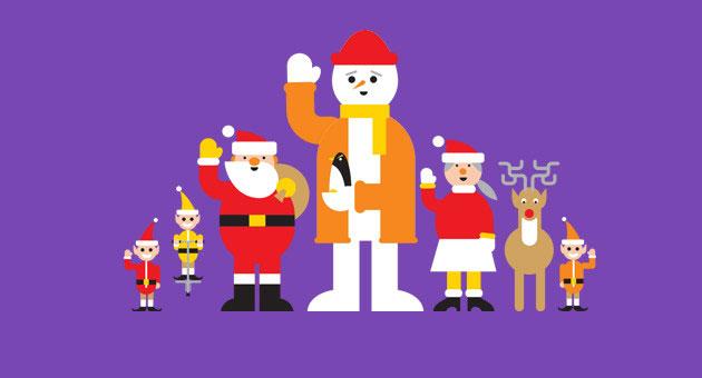بابا نويل 2015 تحت رقابة جوجل ..!