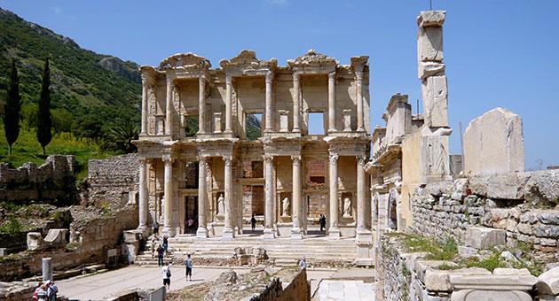 صورة معالم سياحية في تركيا أفسس