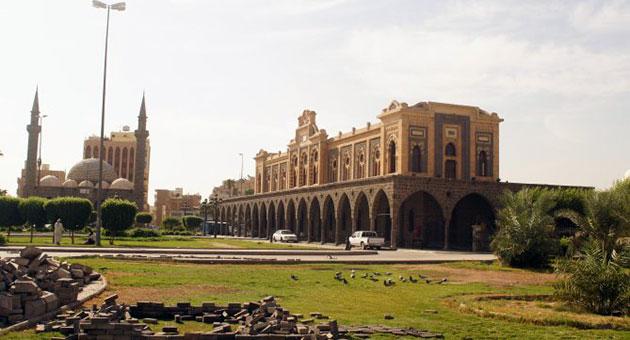 صورة سكة حديد الحجاز