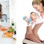 صورة إنقاص الوزن بعد الولادة