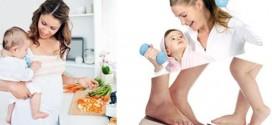 إنقاص الوزن بعد الولادة بشكل طبيعي