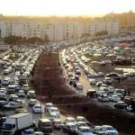 صورة الازدحام المروري