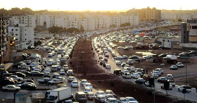 الازدحام المروري وعلاقته بالصحة العامة