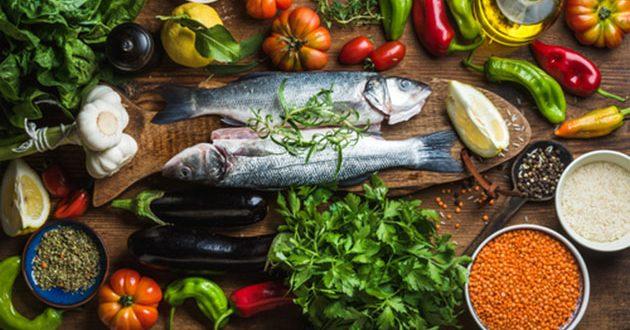 أنواع الأكل الصحي